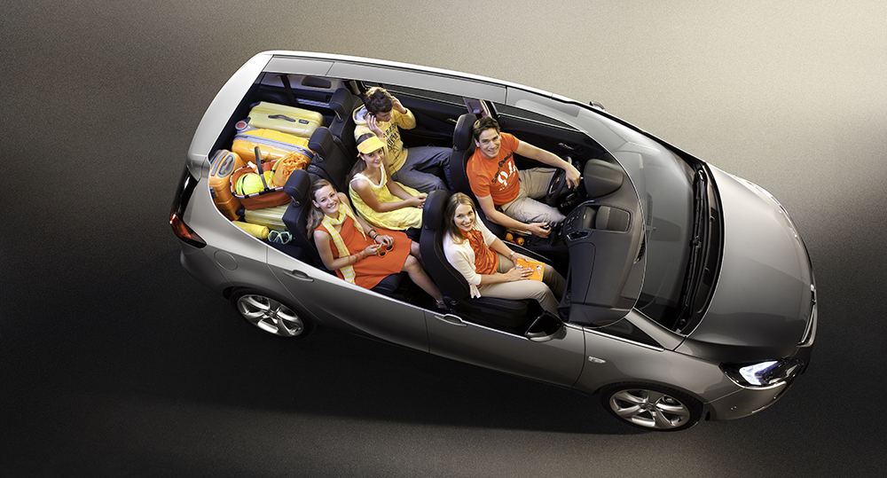 Opel Zafira Tourer, Flex7 System