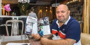 """Cătălin Scărlătescu a savurat cu nesaț interviul  cu Florin Dumitrescu din Auto Test Magazin.  """"A vorbit atât de mult? Nici aici nu scap de Florin""""  a spus amuzat."""