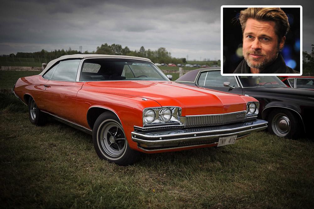 Prima masina - Brad Pitt