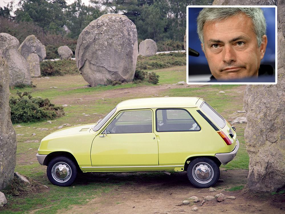 Prima masina - Jose Mourinho