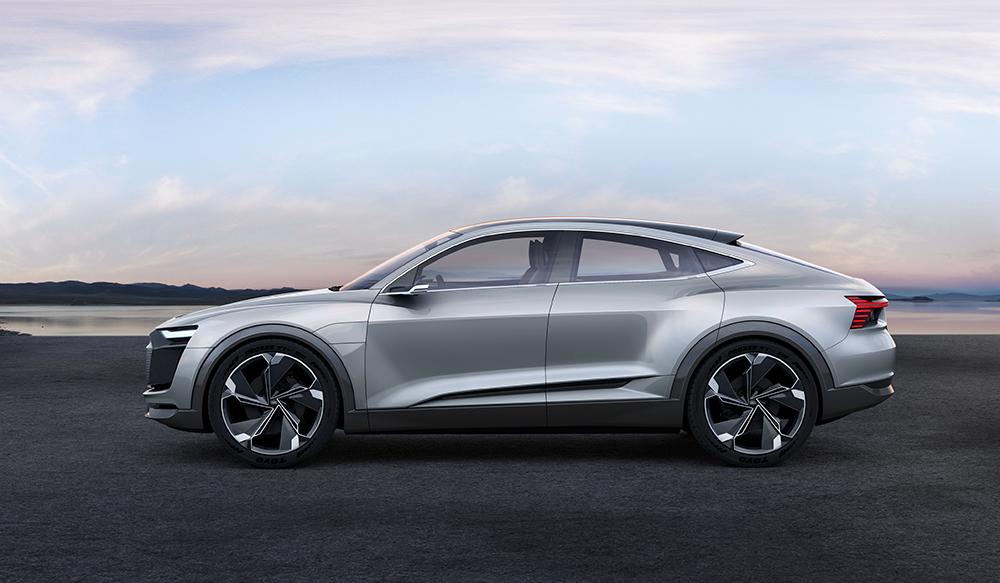 Audi e-tron Sportback Concept 2