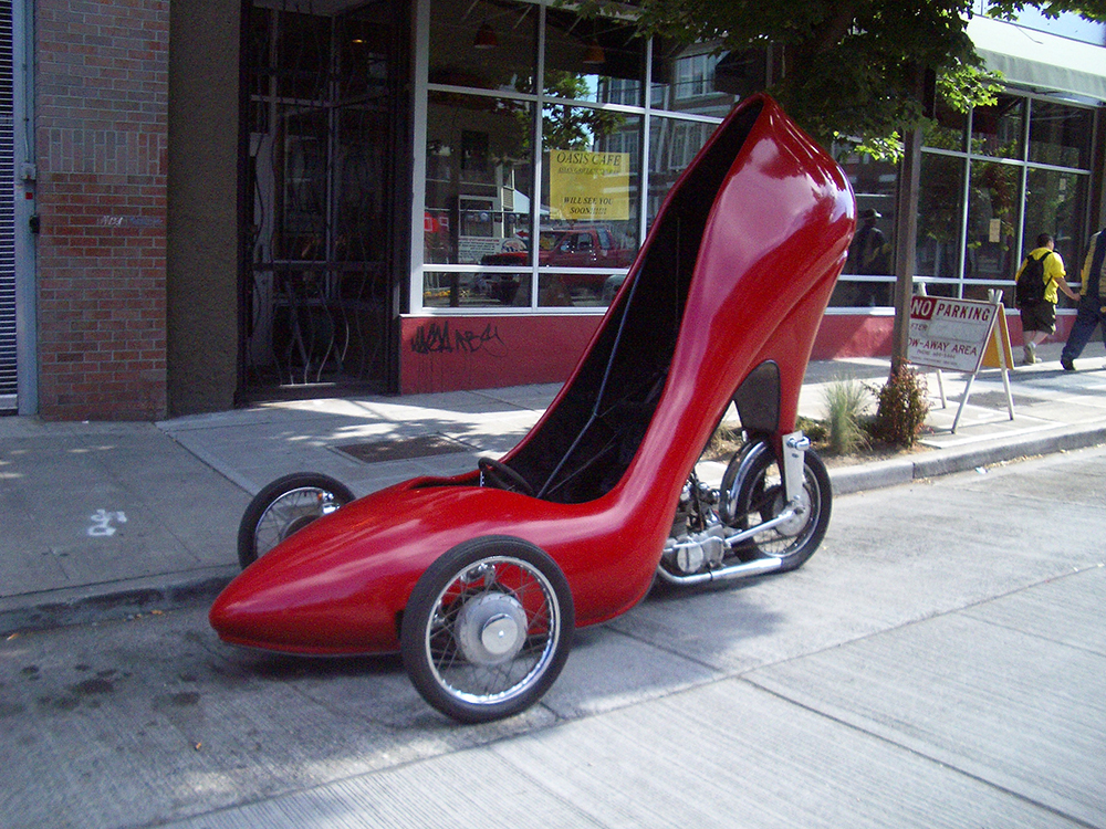 The Stiletto Shoe Car