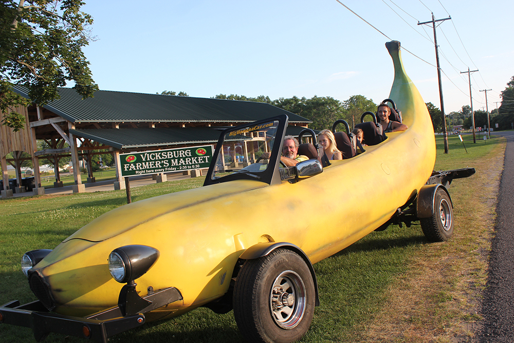The Banana Car