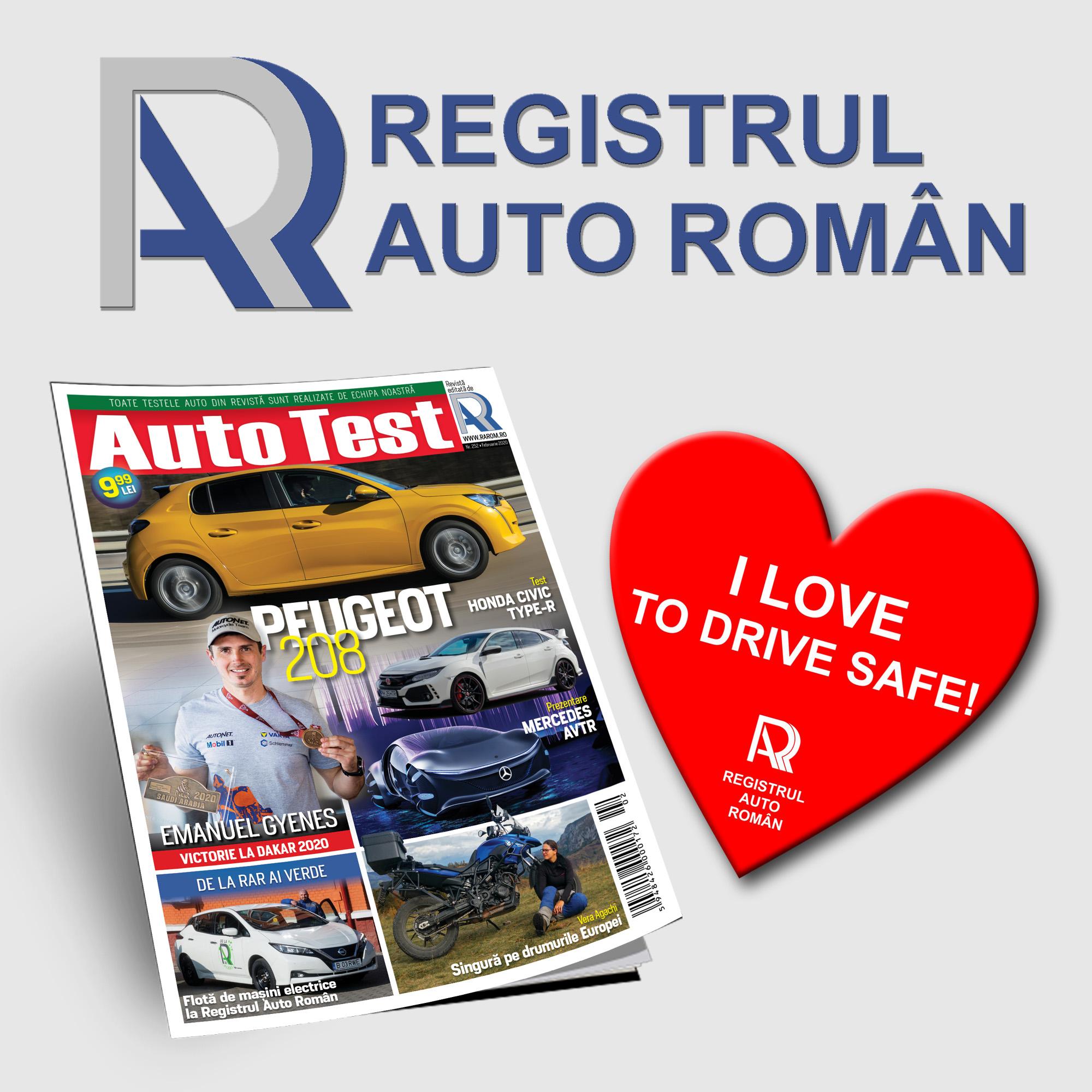 AutoTest MagazinAuto Test Februarie 2020: I LOVE TO DRIVE